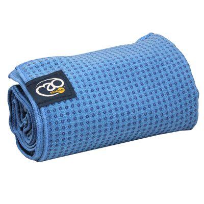Yoga Mad Grip Dot Yoga Mat Towel 2014 - Blue