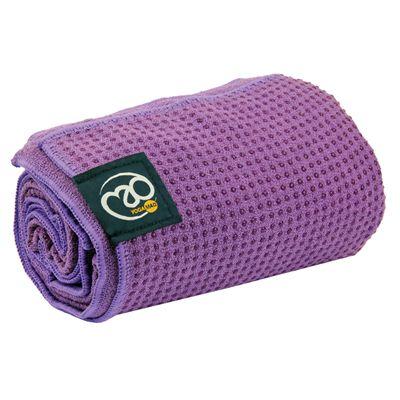 Yoga Mad Grip Dot Yoga Mat Towel - PUR