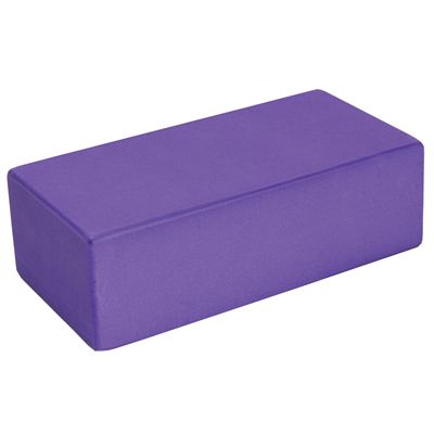 Hi-density Yoga Brick 220mm 110mm 70mm - Purple