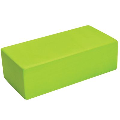 Yoga Mad Yoga Brick Hi-Density-Lime Green