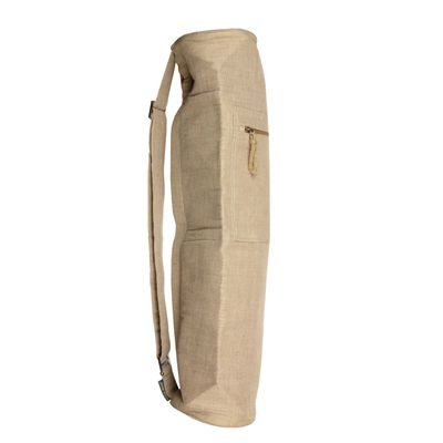 Yoga Mad Jute Cotton Yoga Mat Bag - Beige