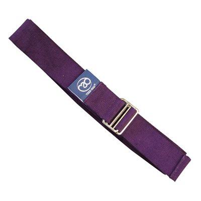 Yoga Mad Lightweight Yoga Belt Grape