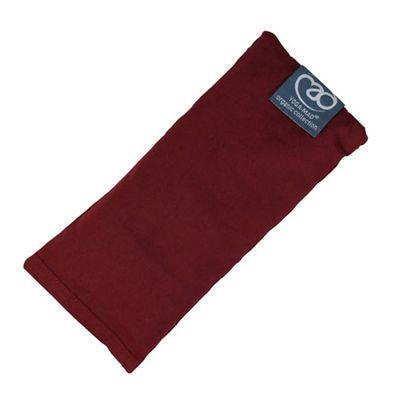 Yoga Mad Organic Cotton Eye Pillow - Burgundy