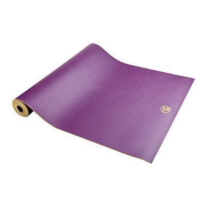 Yoga Mad Sure Grip Travel 4mm Yoga Mat - Purple2