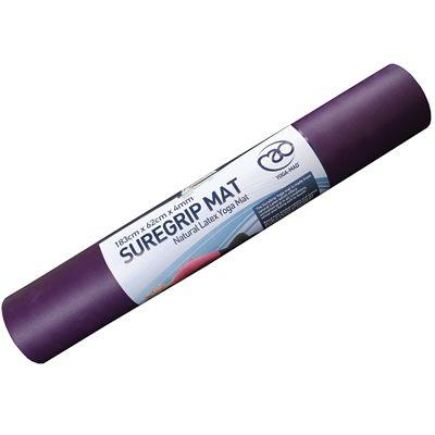 Yoga Mad SureGrip Travel Yoga Mat 4mm-Purple