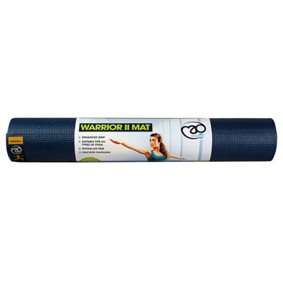 Yoga Mad Warrior II 4mm Yoga Mat - Dark Blue