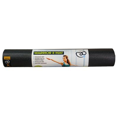 Yoga Mad Warrior II 4mm Yoga Mat - Graphite