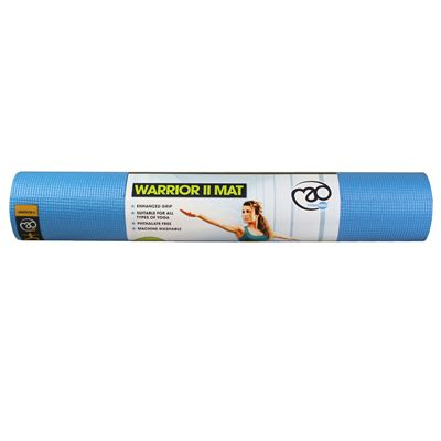 Yoga Mad Warrior II 4mm Yoga Mat - Light Blue