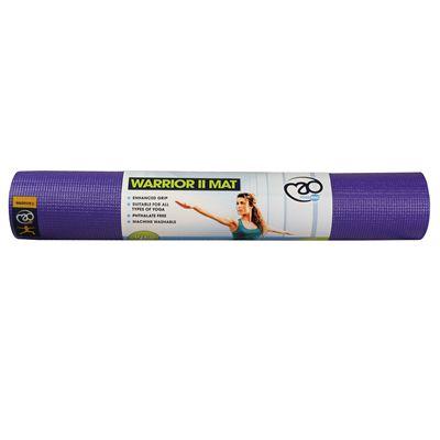 Yoga Mad Warrior II 4mm Yoga Mat - Purple