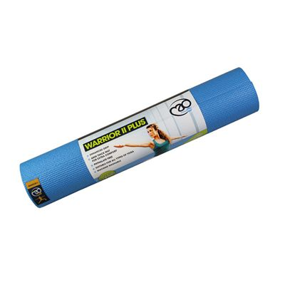 Yoga Mad Warrior II Plus 6mm Yoga Mat-Light Blue
