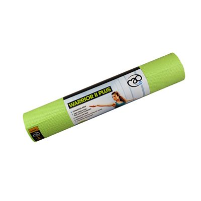 Yoga Mad Warrior II Plus 6mm Yoga Mat-Lime Green