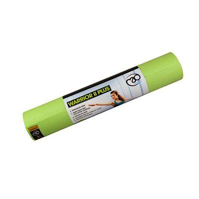 Yoga Mad Warrior II Plus 6mm Yoga Mat-Lime Green