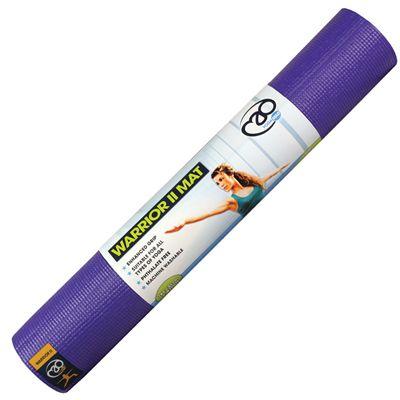 Yoga Mad Warrior II Plus 6mm Yoga Mat-Purple