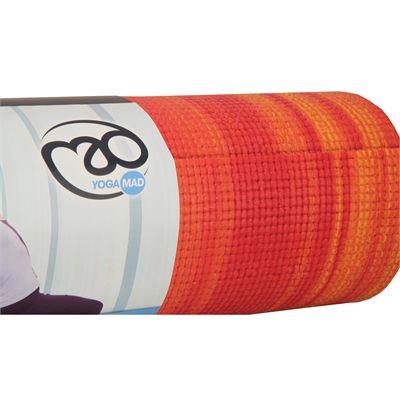 Yoga Mad Warrior Yoga Mat Fire 6mm Image