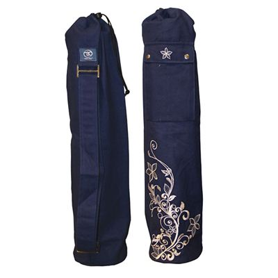 Yoga Mad Wildflower Yoga Mat Bag Blue