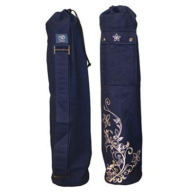 Yoga Mad Wildflower Yoga Mat Bag Blue