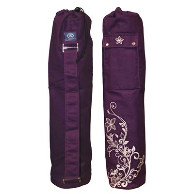 Yoga Mad Wildflower Yoga Mat Bag Grape