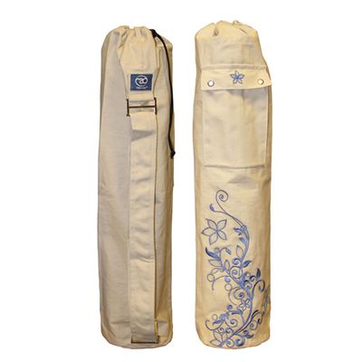 Yoga Mad Wildflower Yoga Mat Bag Oat