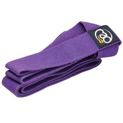 Yoga Mad Yoga Belt and Mat Carry Strap-Purple