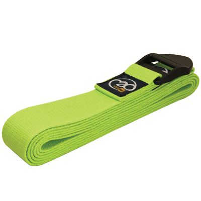 Yoga Mad Yoga Belt Deluxe Cotton 2.0m-Green
