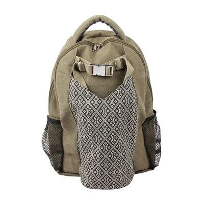 Yoga Mad Yoga Mat Backpack In Use  -Front