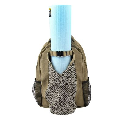 Yoga Mad Yoga Mat Backpack In Use 2