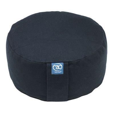Yoga Mad Zafu Round Cushion Standard - Black Colour