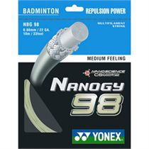 Yonex Nanogy 98 Badminton String - 10m Set