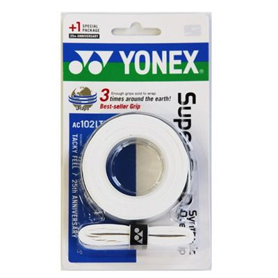 Yonex Super Grap Limited Edition Pack White