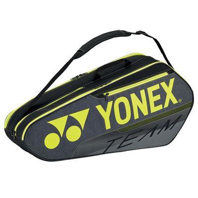 Yonex 42126 Team 6 Racket BagYonex 42126 Team 6 Racket Bag - Black