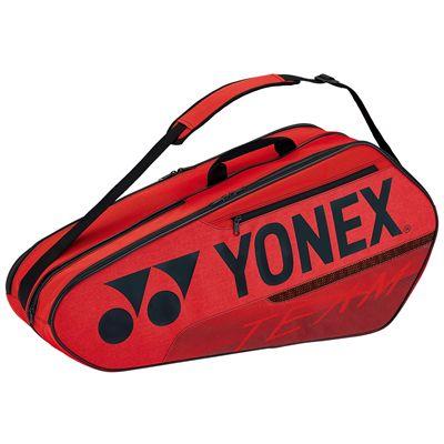 Yonex 42126 Team 6 Racket BagYonex 42126 Team 6 Racket Bag - Red