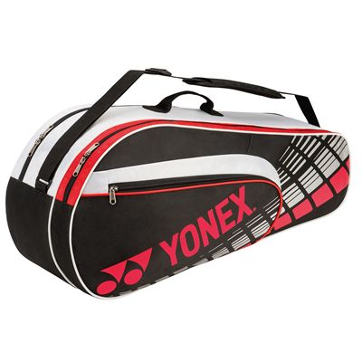 Yonex 4626 Performance 6 Racket Bag - Black Red