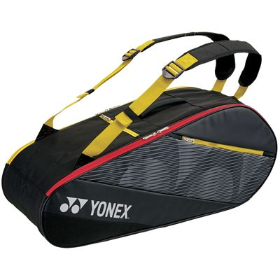 Yonex 82026 Active 6 Racket Bag - Black