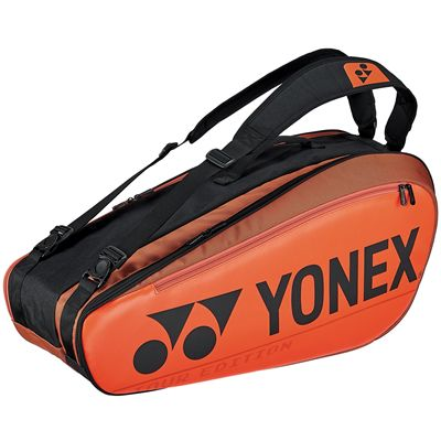 Yonex 92026 Pro 6 Racket Bag - Orange