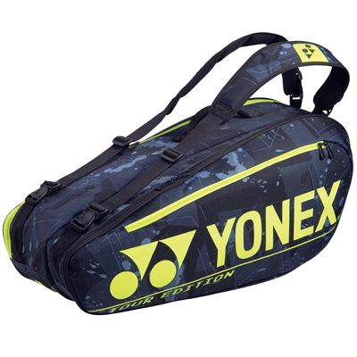 Yonex 92026 Pro 6R Racket Bag - Black