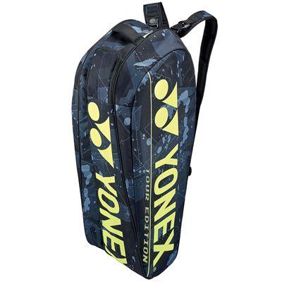 Yonex 92026 Pro 6R Racket Bag - Black Standing