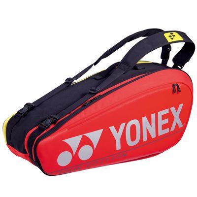 Yonex 92026 Pro 6R Racket Bag - Red