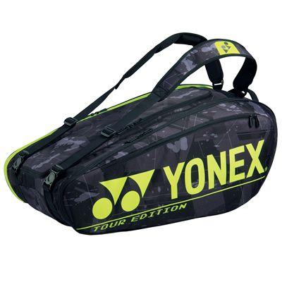 Yonex 92029 Pro 9R Racket Bag - Black
