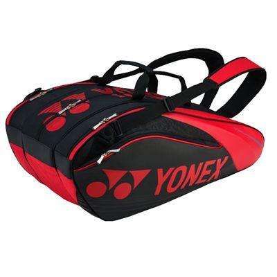 Yonex 9629 Pro 9 Racket Bag SS17 - Black/Red
