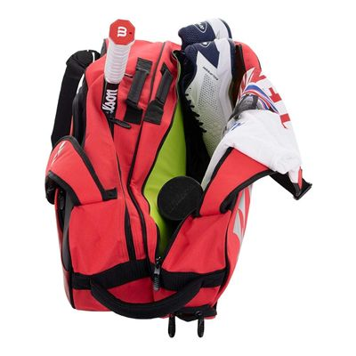 Yonex 9826 Pro 6 Racket Bag - Red - In Use