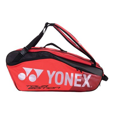 Yonex 9826 Pro 6 Racket Bag - Red - Side