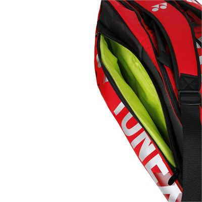 Yonex 9829 Pro 9 Racket Bag - Red - Pocket