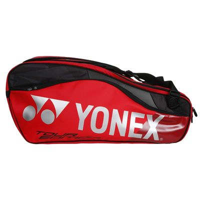 Yonex 9829 Pro 9 Racket Bag - Red - Side