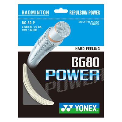 Yonex BG-80 Power Badminton String -10M Set -Orange