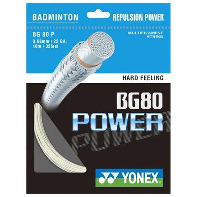 Yonex BG 80 Power Badminton String Set Image