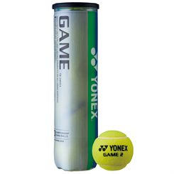 Yonex Game Tennis Balls - Tube of 4