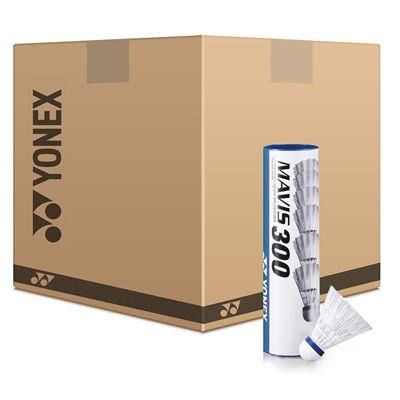 Yonex Mavis 300 White Shuttlecocks Box 25