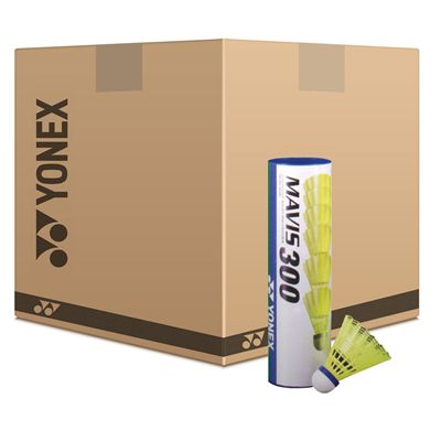 Yonex Mavis 300 Yellow Shuttlecock Box - 50
