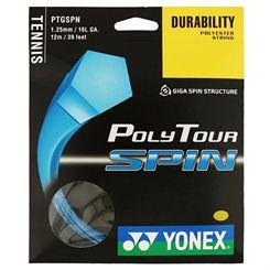 Yonex Poly Tour Spin Tennis String Set