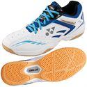 Yonex Power Cushion 34 Mens Badminton Shoes-White and Blue